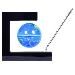 3 inch Magnetic Levitation Globe Ornament met LED-verlichting zwevend Globe Acoustic Levitation Globe Floating Magnet Globe LED Light