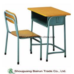 Le mobilier scolaire panneau de châssis en métal Table et chaise de bureau d'étudiant