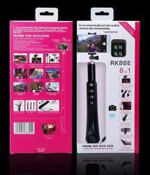 Nuovo miglior kit 8 in 1 parti otturatore remoto Bluetooth Con bastoncino selfie