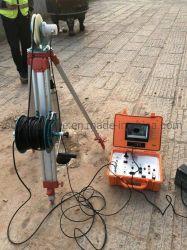 100-500m de profundidad pozo de agua de la Cámara de inspección Vídeo cámara de inspección del tubo de perforación.