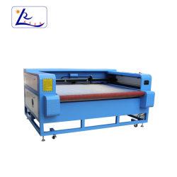 Yk-1610 CNC 자동 공급 이산화탄소 직물 방수포 Laser 절단기