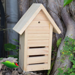 Outsideのための単にWood Making Bee House