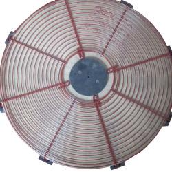 Ronde revêtus de PVC de haute qualité grille métallique de protection de ventilateur