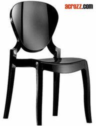 플라스틱 명확한 쌓을수 있는 연회 의자를 식사하는 현대 가구 유령