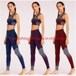 2019 الصين رخيصة [جم] لهاث دوران لباس [برثبل] نظام يوغا ملابس صدرة رياضة صديرية ولهاث ثبت لياقة مع نوعية جيّدة