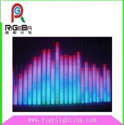 Voyant de contrôle de fréquence audio tube colonne