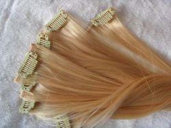 Clip capelli, clip capelli biondi, estensione pre-blondd capelli