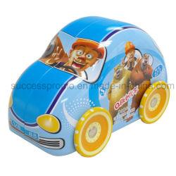 صندوق معدني بحجم متوسط على شكل سيارة