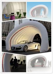 Techo temporal de publicidad automóvil hinchables cubierta para coche mostrar