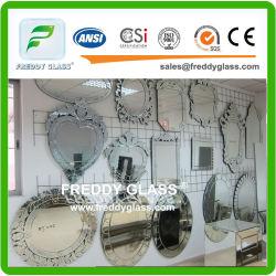 Espejo/vidrio de aluminio del espejo/espejo de plata