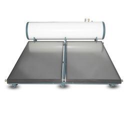 نظام الطاقة الشمسية عالي الضغط سعة 300 لتر ذو اللوحة المسطحة المدفأة