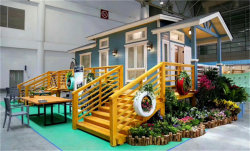 رفاهية [بلوكني] خشبيّ دار خشن مقصورة لأنّ عمليّة بيع [برفب] حديقة منزل