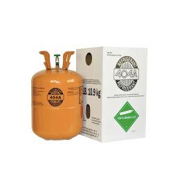 안전 자동차 냉각 99.9% 높은 순수성 R404A 냉각하는 가스 10.9kg