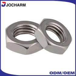 La précision DIN936 SUS316 SUS316L en acier inoxydable contre-écrou hexagonal mince