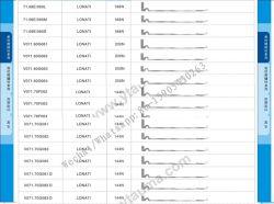 Vo 71.70 G081/082/083 degli aghi di lavoro a maglia della macchina del calzino di Lonati di alta qualità