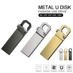 USB veloce Pendrive dell'azionamento dell'istantaneo del USB di Carabiner del metallo