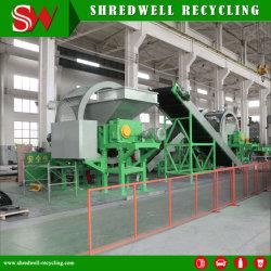 Melhor preço utilizado no triturador de Pneu para carro de Reciclagem de Pneus