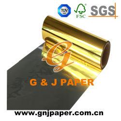 8011 en alliage aluminium Feuille d'or auto-adhésif du papier pour l'autocollant