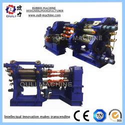 2 رول رنغير مطاطي لمطاط مغناطيسي / شهادة CE 2 ماكينات التقويم باللفة/أسطوانتان ماكينة التقويم المطاطية