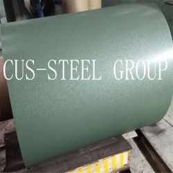 Geknittertes Farbe TexturPPGI/Textured Farben-Blatt/Matt angestrichener Stahlring