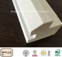 OEM et ODM étanche blanc bois apprêtés de haute qualité en bois Prix compétitif jambage de porte