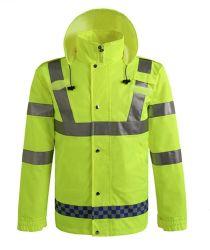 防水および通気性の高い可視性の安全Workwearのジャケット3m反射テープ中国人の工場