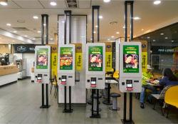 Le restaurant Fastfood Self-Ordering kiosque pour