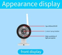 IP-Kamera imprägniern im FreienWiFi Kamera IP66 Bewegungs-Befund-Nachtsicht CCTV-Kamera