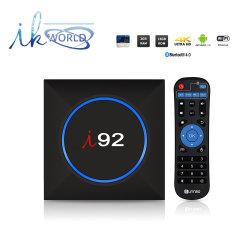 J'ai92 Android IPTV TV Box S905X 2G des puces de mémoire DDR 16g Emmc 2.4G 4K avec Netflix 2017 WiFi TV Box Media Player