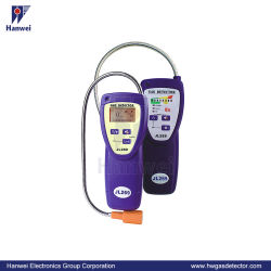 携帯用LED/LCD 3.7Vの充電電池H2のガスの漏出探知器