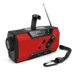 最もよい存続の緊急の手動クランクの天候のラジオの懐中電燈