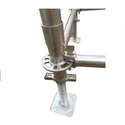 Serviço Pesado galvanizado sólida base de tomada de acessórios de andaimes