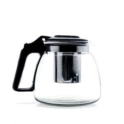 900 ml de gros de café en verre de thé classique personnalisé défini avec CUPS