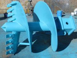 토양 드릴링 리그 기계 세륨/ISO9001를 위한 두 배에 의하여 삭감되는 편평한 송곳 지구 송곳 드릴용 날