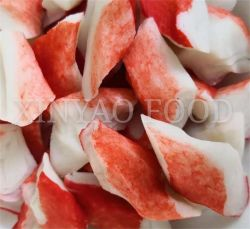 Замороженные Surimi Краб вторичных хлопьев ПЭТ, имитацию краб мясо, салат