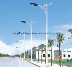 80W het zonneSysteem van de Straatlantaarn, Aanstekend Effect Gelijk aan 350W de Lamp van het Natrium van de Hoge druk
