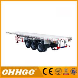 Het eind Vervoer van de Container/de Auto Semi Aanhangwagen van het Bed van de Vervoerder Vlakke