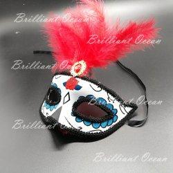 Masker van Halloween van het Masker van de Bal van de Maskerade van de Vrouwen van het Masker van Carnaval van het Masker van de maskerade het Witte