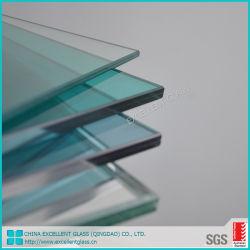 -12.766.38mm mm clair trempé de sécurité décoration en verre feuilleté pour Windows
