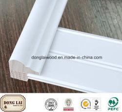 Interior blanco de madera de madera con aparejo de alta calidad precio muy competitivo, Panel de madera de alta calidad