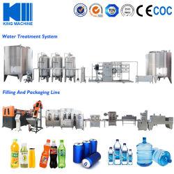 Purificador de Água Mineral Garrafa automática da energia de suco de beber cerveja bebidas refrigerantes gaseificados facilitando o enchimento de fábrica de engarrafamento equipamento de fabrico