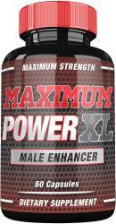 La cápsula de cuadro etiqueta personalizada para los hombres productos para la mejora de la energía