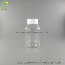180ml PET Capsules conteneur en plastique avec bouchon en plastique
