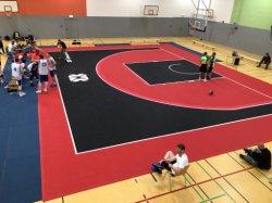 FIBA 공식 3 농구 코트