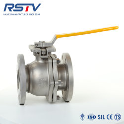 API/JIS/DIN 2PC flangia e valvola a sfera filettata acciaio al carbonio e valvola a sfera in acciaio inox Valvola a sfera flottante e a perno pneumatico/valvola a sfera elettrica