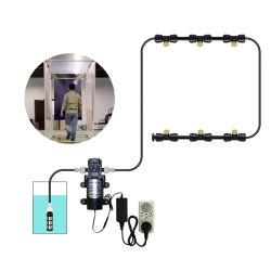 Patio-Wasser-Sprüherim freienmisting-Kühlsystem für Garten