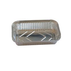 Rectangle Conteneur d'aluminium 750ml jetable à l'élimination de la plaque de carburant des bouteilles de produits compatibles avec l'eau