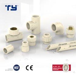 مورد موثوق به CPVC PVC أنابيب تركيب DIN أنابيب المياه العلامات التجارية قائمة أسعار السباكة البلاستيك المصنعين الجودة