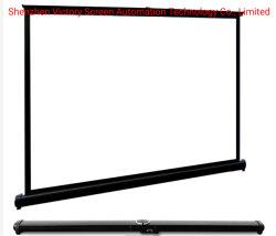 La victoria de la fábrica de la pantalla portátil mayorista mini pantalla de proyección de la Mesa de reunión o en el exterior Proyector HD LCD LED