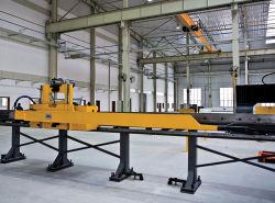 Costruzione in acciaio officina CNC Beam Drilling Machine altezza rete 1250 mm larghezza flangia 600 mm